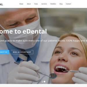 eDental - szablon Wordpress dla dentystów