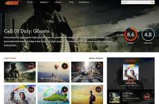 gauge - motyw wordpress do recenzji