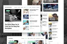 szablon Wordpress czasopisma